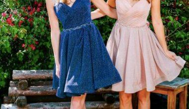 2021 En Güzel Kısa Abiye Elbise Modelleri