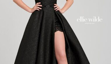 En Şık 2021 Siyah Abiye Elbise Modelleri