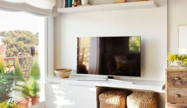 Televizyon Arkası Dekorasyon Fikirleri ve Öneriler
