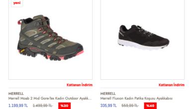 Merrell Outdoor Ayakkabı Modelleri ve Fiyatları