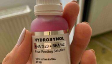 PROCSIN Hydrosnol Canlandırıcı Cilt Tonu Eşitleyici Aha Bha Serum Ne İşe Yarar, Fiyatı ve Kullananların Yorumları